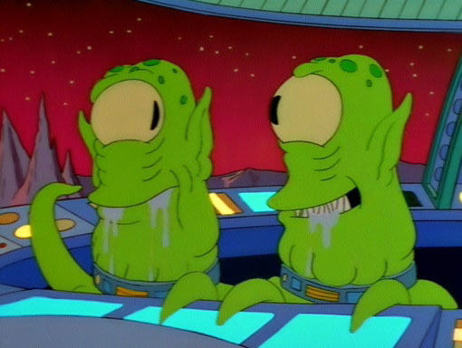 The Simpsons — s09e04 — Treehouse of Horror VIII