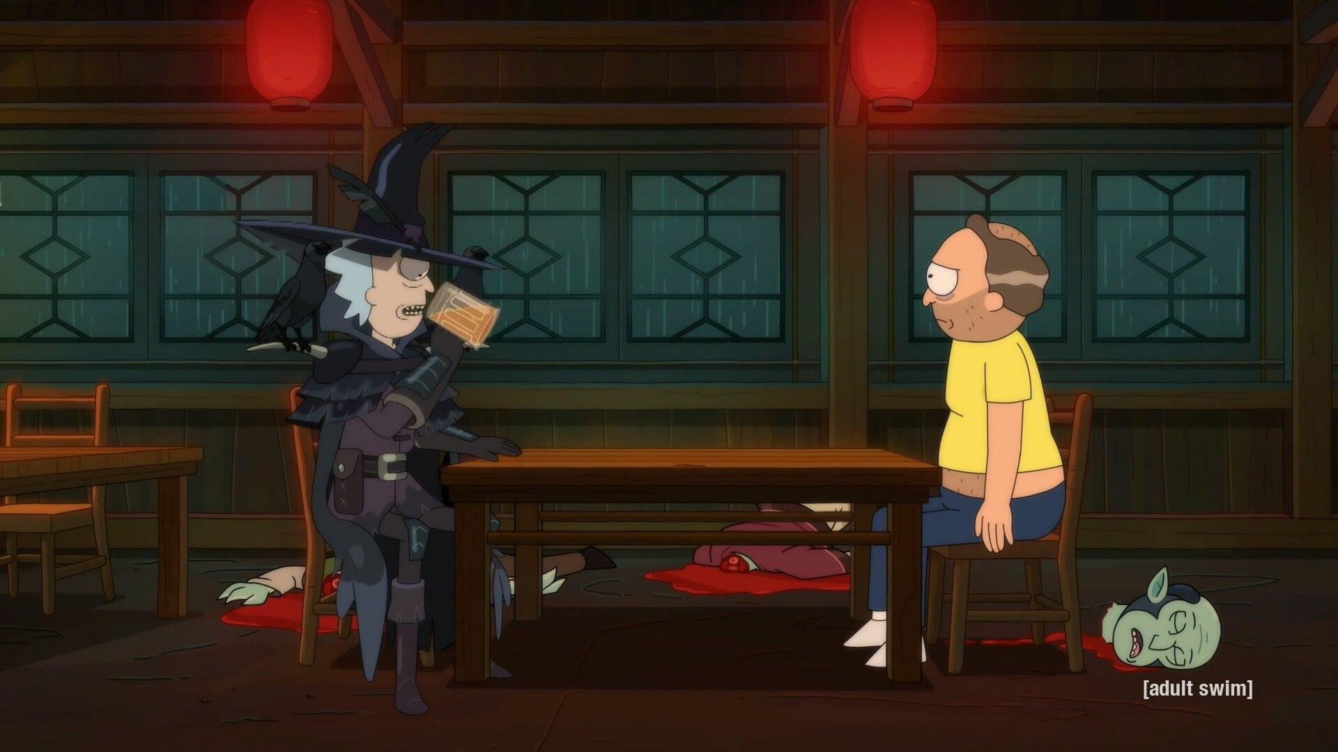 Rick and Morty — s05e10 — Rickmurai Jack