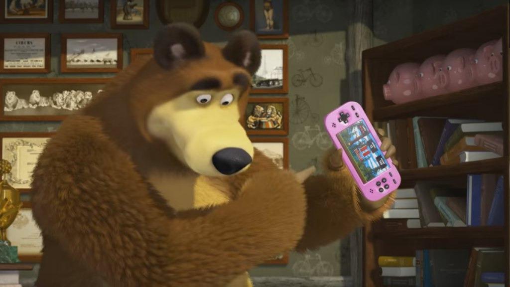 Маша и Медведь — s03e07 — Game Over