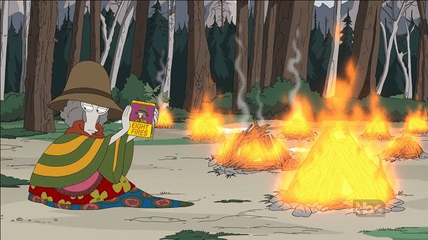 American Dad! — s15e19 — Eight Fires