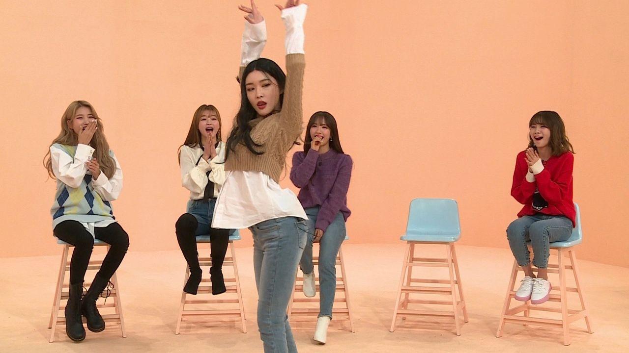 Комната айдола — s02e01 — Sowon (GFriend), YooA (Oh My Girl), Bona (Cosmic Girls), Ahn Ji-young (Bolbbalgan4) and Chungha