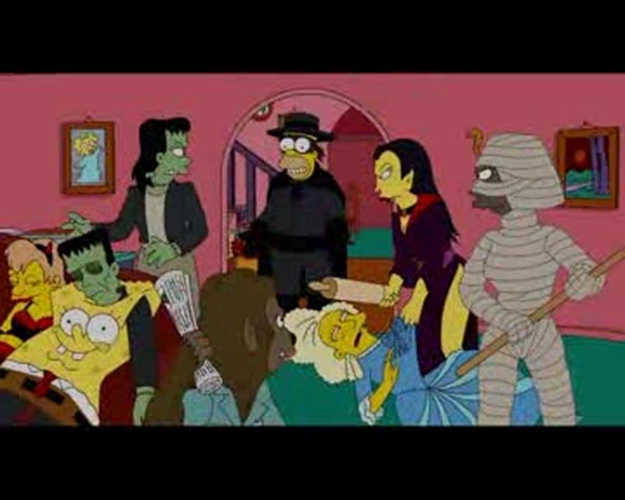 Симпсоны — s21e04 — Treehouse of Horror XX
