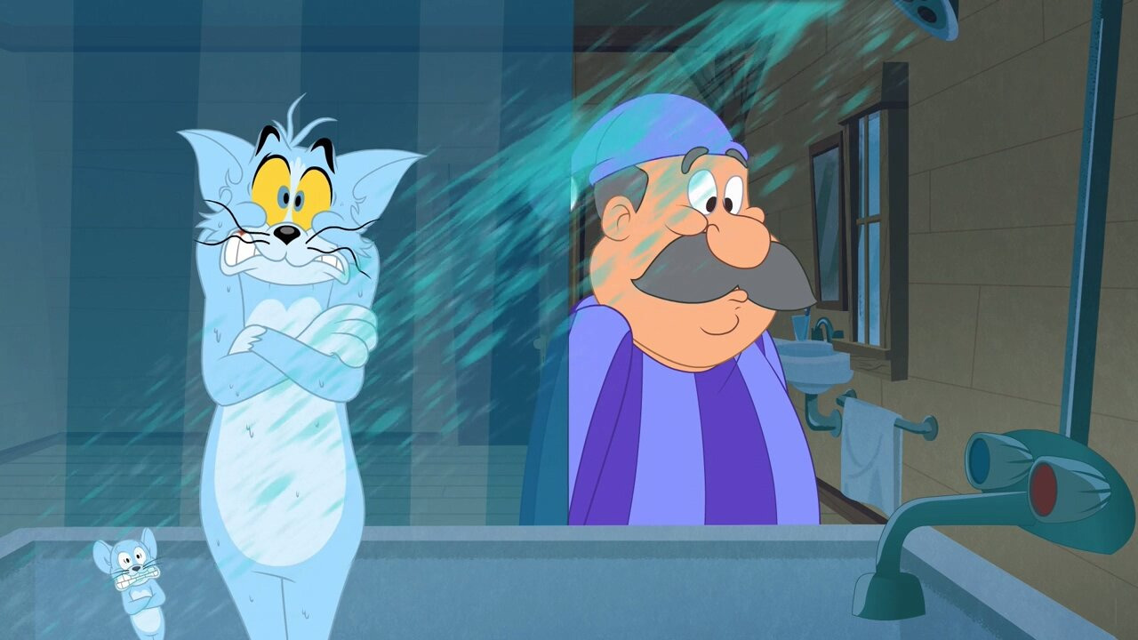 Tom and Jerry in New York — s01e26 — Swiss Cuckoo