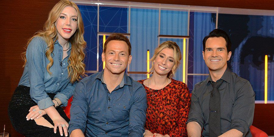 Your Face or Mine? — s02e01 — Joe Swash and Stacey Solomon