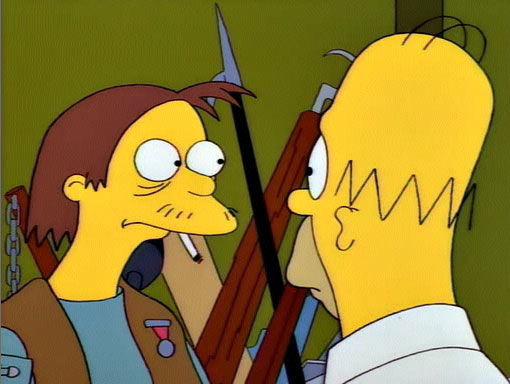 Симпсоны — s05e11 — Homer the Vigilante