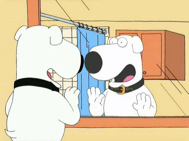 Family Guy — s01e07 — Brian: Portrait of a Dog