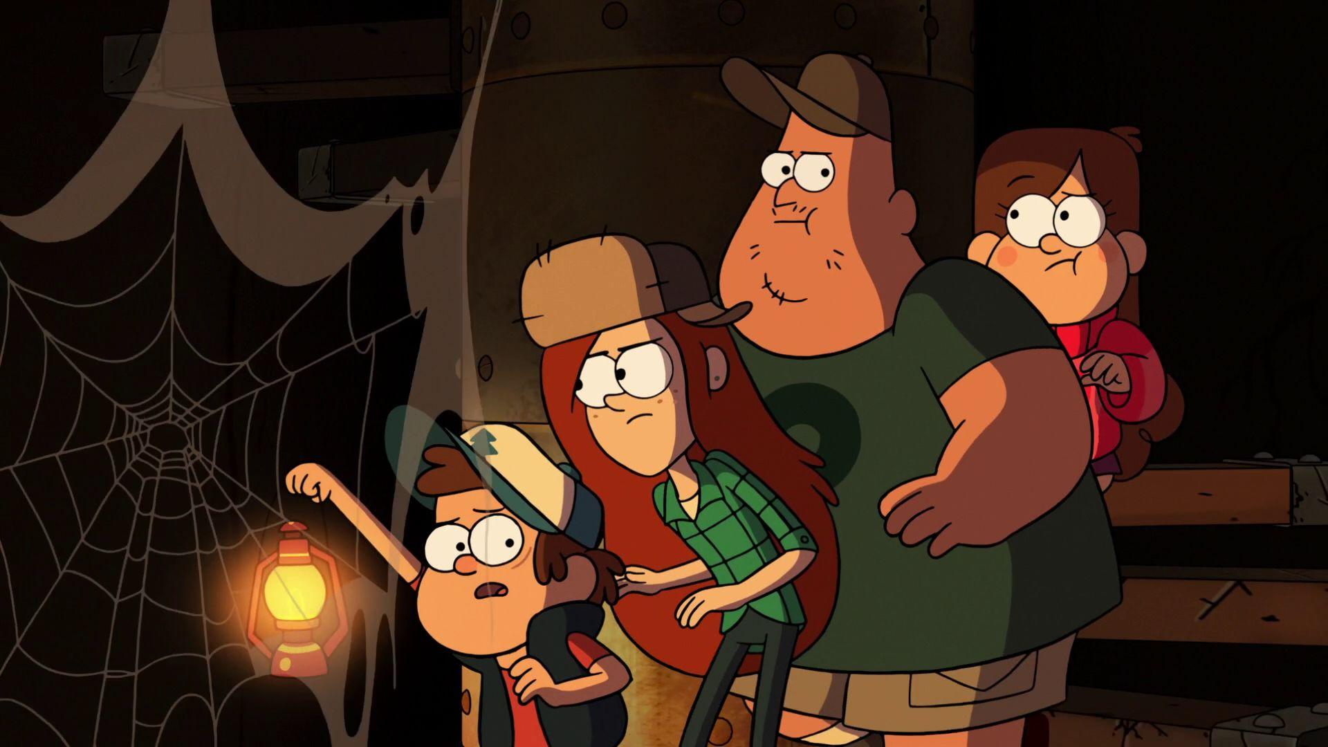 Gravity Falls — s02e02 — Into the Bunker