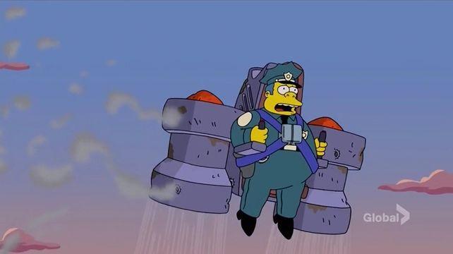 The Simpsons — s26e16 — Sky Police