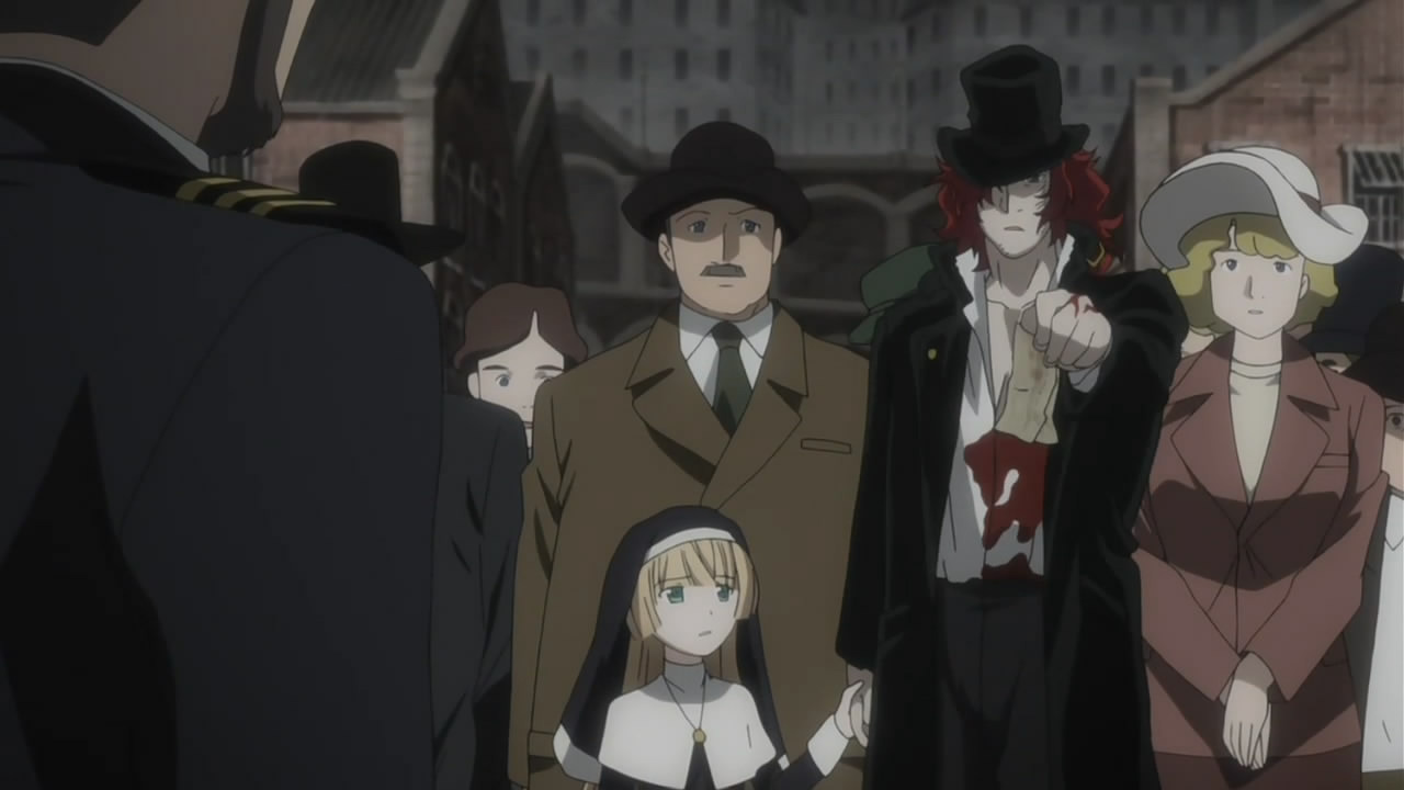 Gosick — s01e24 — Looking at Infinity Over the Reaper`s Shoulder