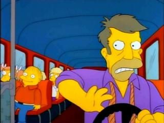 The Simpsons — s03e22 — The Otto Show