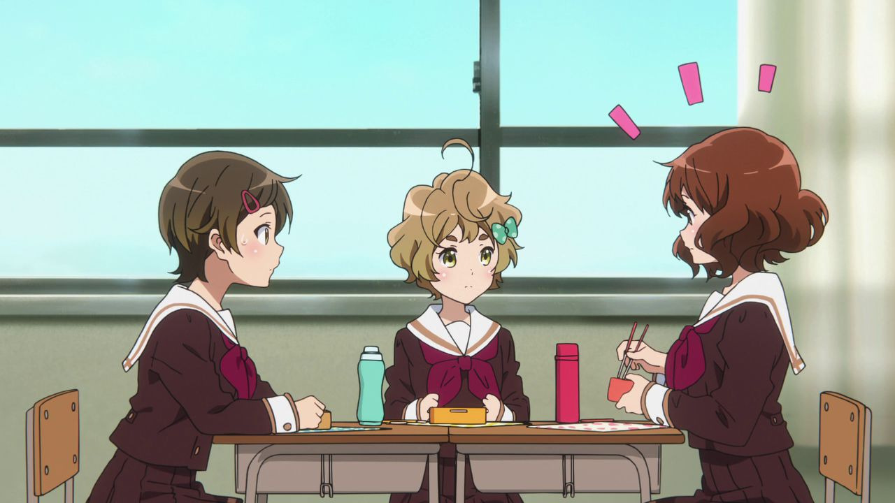 Hibike! Euphonium — s01 special-2 — The Everyday Life of Band Part 1: Cleaning Instruments!