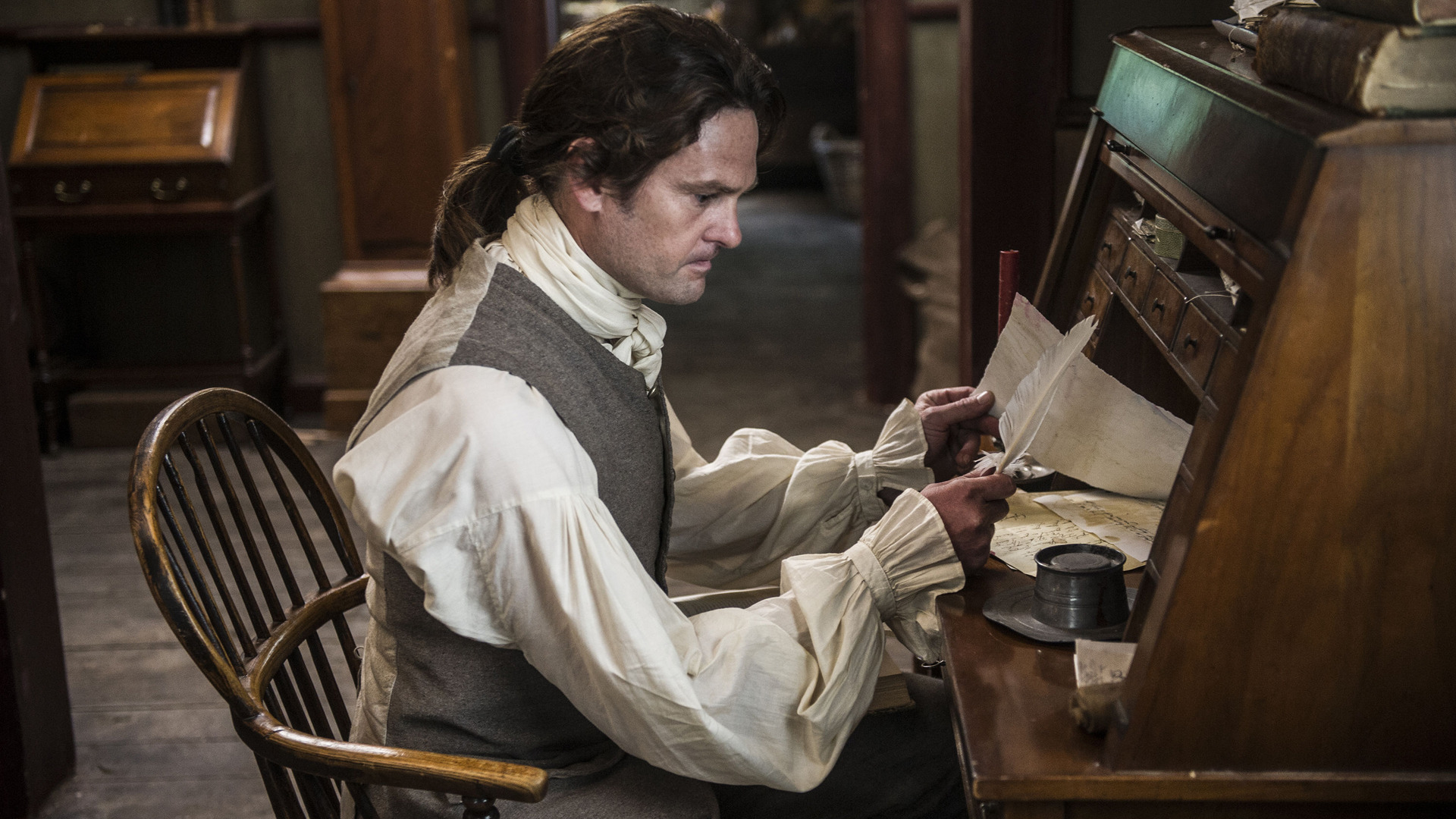 Sons of Liberty — s01e01 — A Dangerous Game