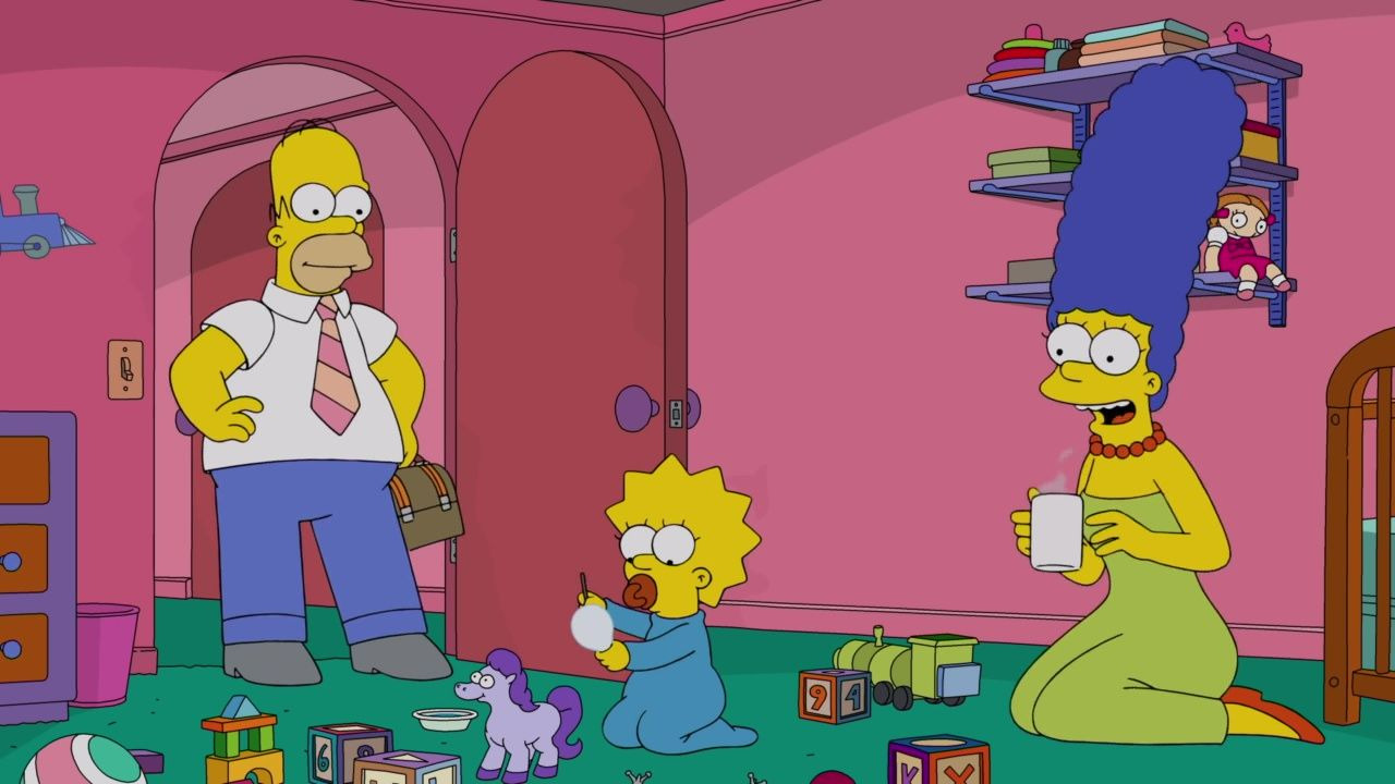 The Simpsons — s31e18 — The Incredible Lightness of Being a Baby