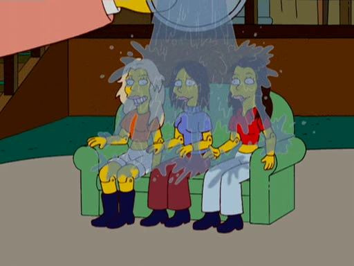 The Simpsons — s17e18 — The Wettest Stories Ever Told