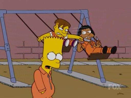 The Simpsons — s15e16 — Wandering Juvie