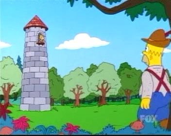 The Simpsons — s12e01 — Treehouse of Horror XI