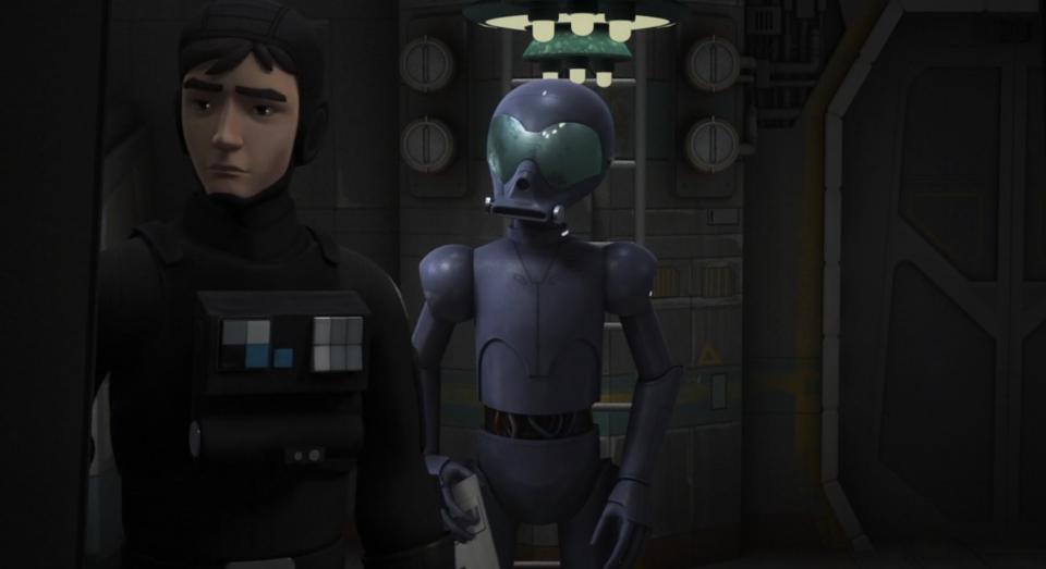 Звездные войны: Повстанцы — s03e19 — Double Agent Droid