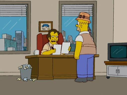 The Simpsons — s18e16 — Homerazzi