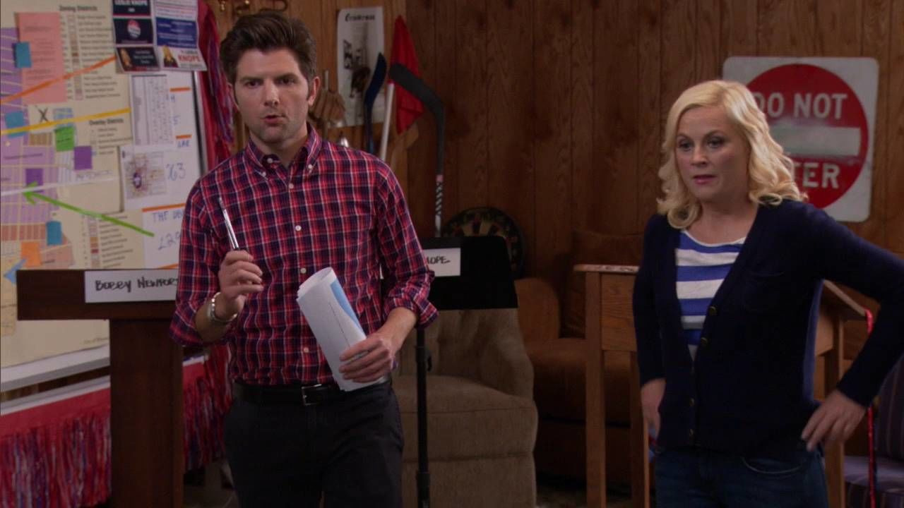 Parks and Recreation — s04e20 — The Debate