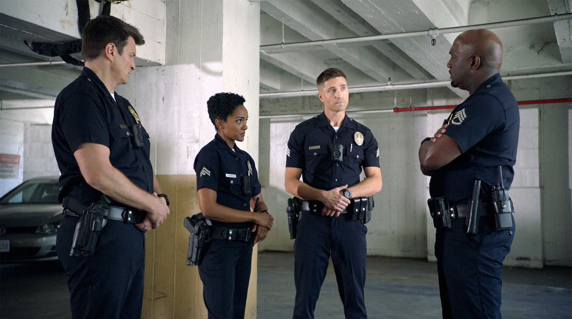 The Rookie — s04e03 — In the Line of Fire