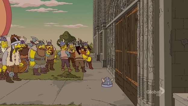The Simpsons — s23e12 — Moe Goes from Rags to Riches