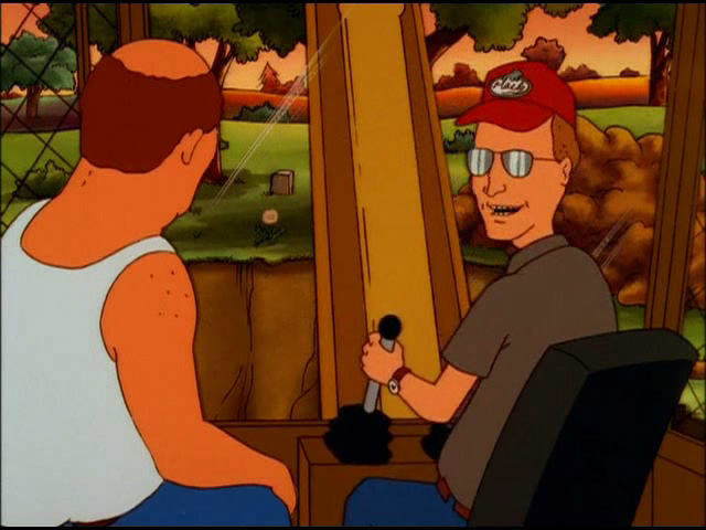 King of the Hill — s04e08 — Not in My Back Hoe
