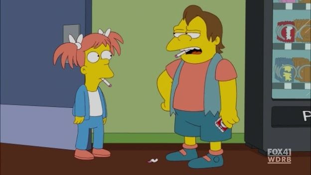 The Simpsons — s23e13 — The Daughter Also Rises