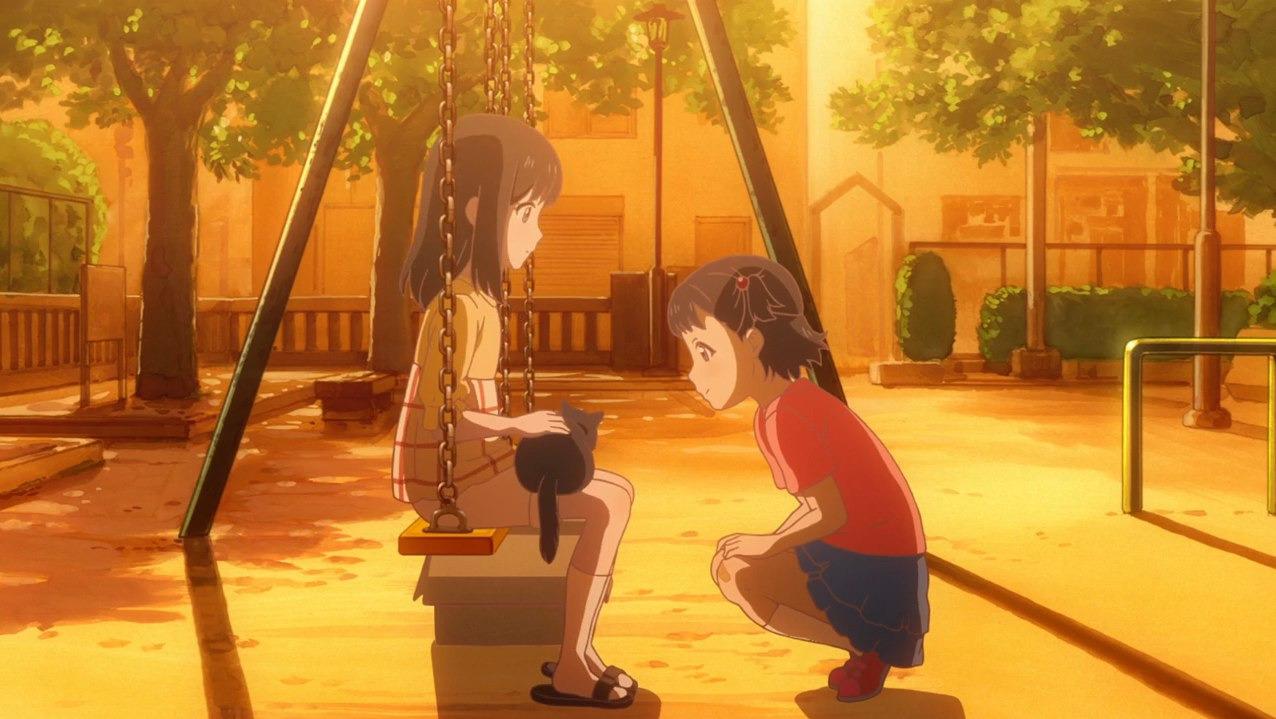 Kanojo to Kanojo no Neko: Everything Flows — s01e02 — She and Her Sky