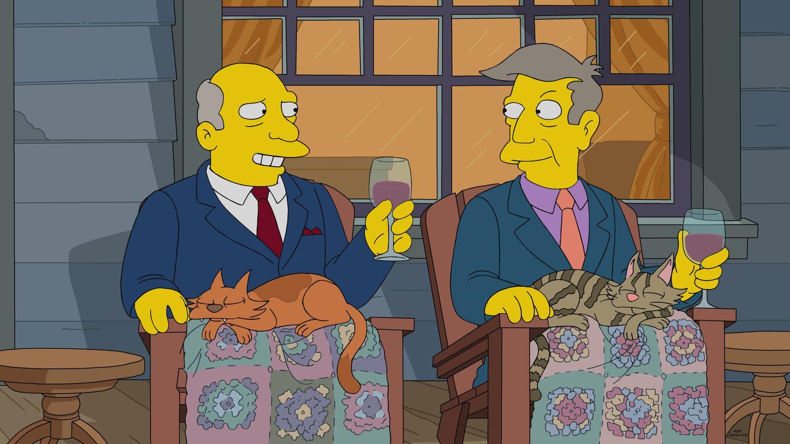 The Simpsons — s32e08 — The Road To Cincinnati