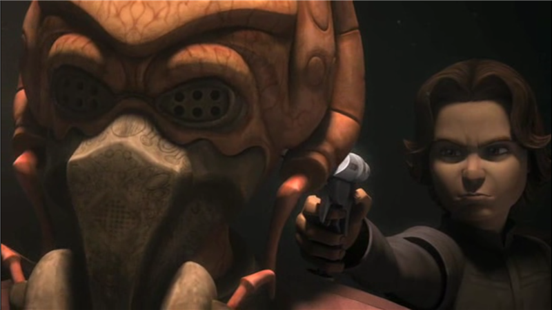 Star Wars: The Clone Wars — s02e22 — Lethal Trackdown