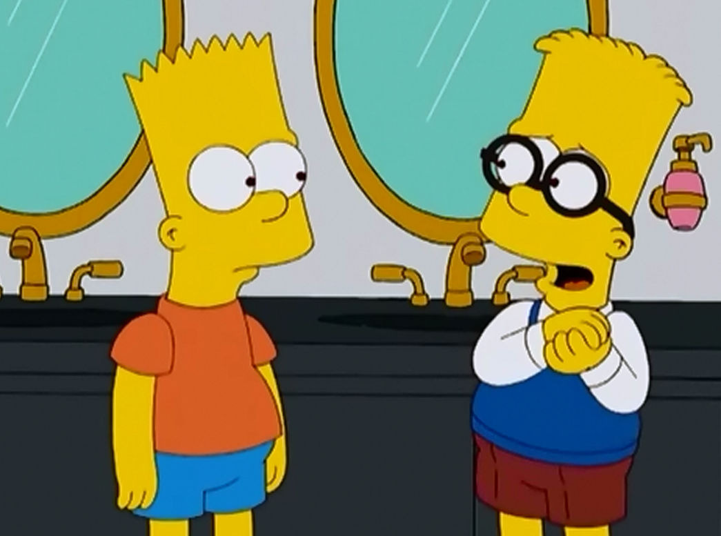 The Simpsons — s20e03 — Double, Double, Boy in Trouble