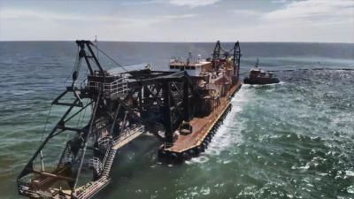 Mega Machines: Sea Giants — s01e03 — Epic Earth Mover