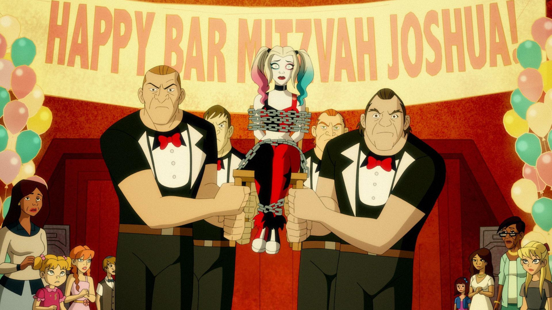 Харли Квинн — s01e02 — A High Bar