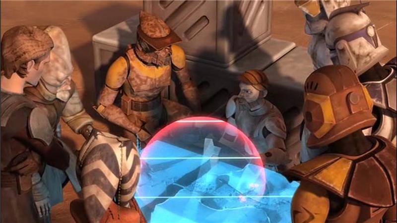 Star Wars: The Clone Wars — s02e05 — Landing at Point Rain