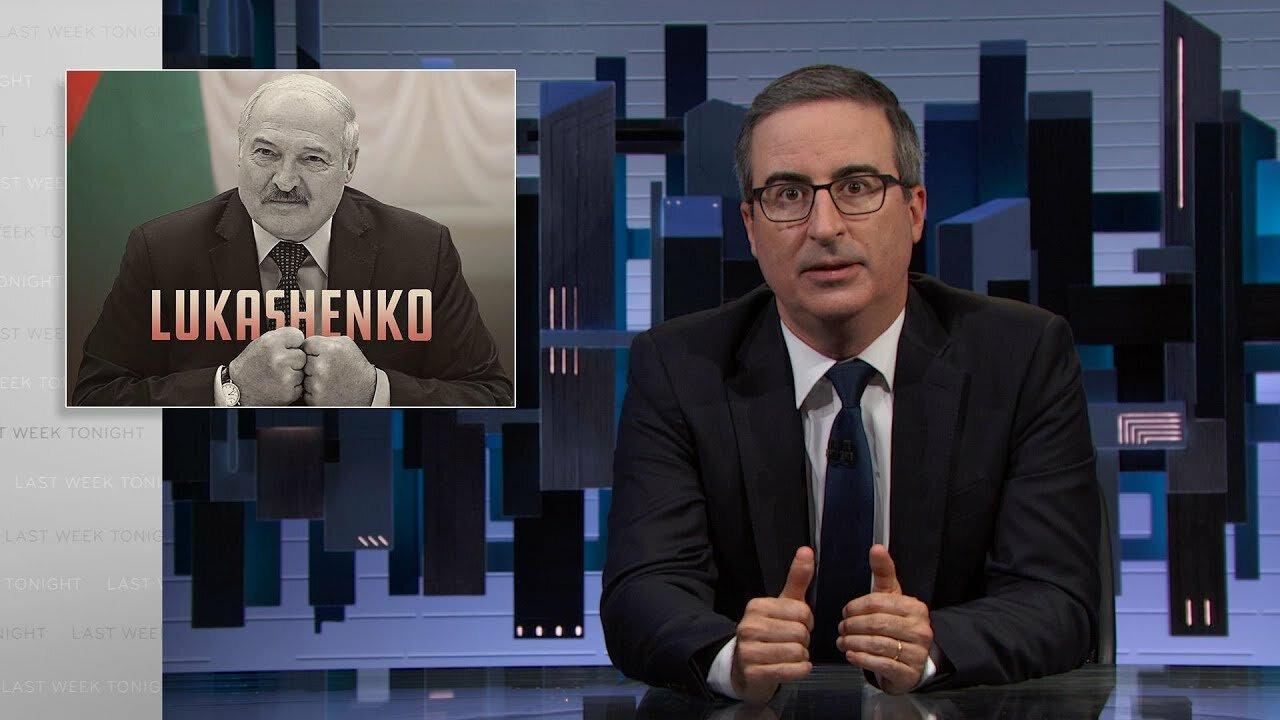 События прошедшей недели с Джоном Оливером — s08e23 — Lukashenko