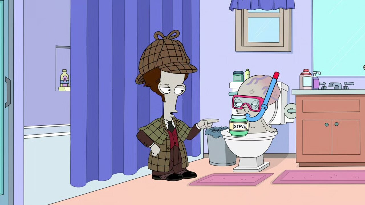 American Dad! — s17e14 — Flush After Reading