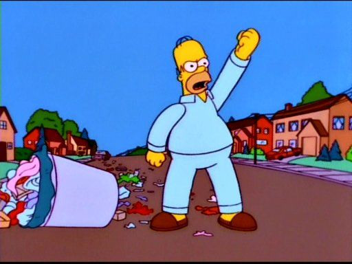 The Simpsons — s09e22 — Trash of the Titans