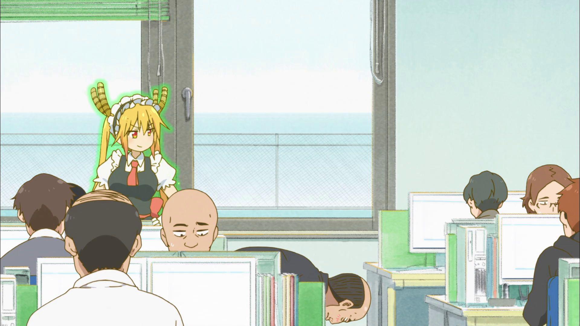 Дракон-горничная госпожи Кобаяши — s01e05 — Tohru's Real World Lessons! (She Thinks She Understands It Already)
