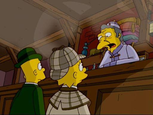 The Simpsons — s16e01 — Treehouse of Horror XV