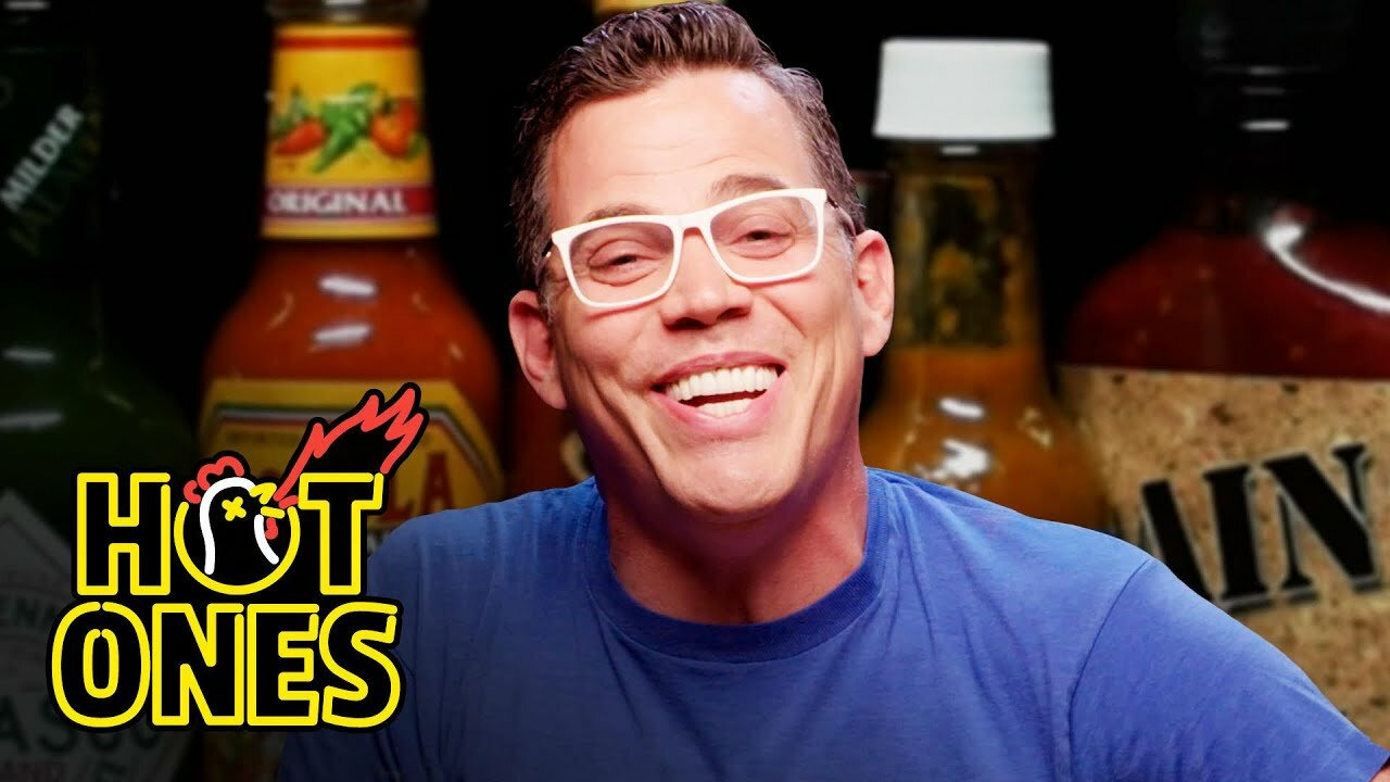 Hot Ones — s14e12 — Steve-O Takes It Too Far While Eating Spicy Wings