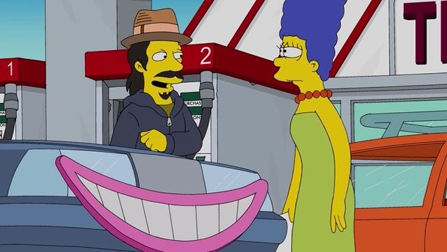 The Simpsons — s26e14 — My Fare Lady
