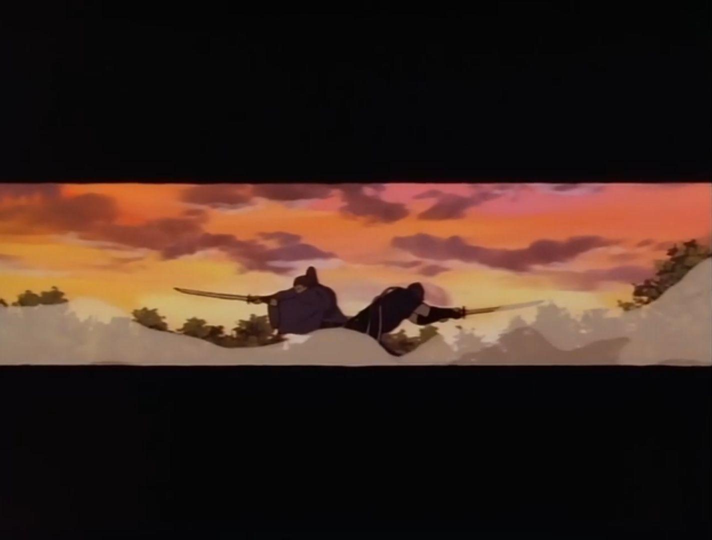 Бродяга Кэнсин — s03e01 — The Legend of the Fireflies