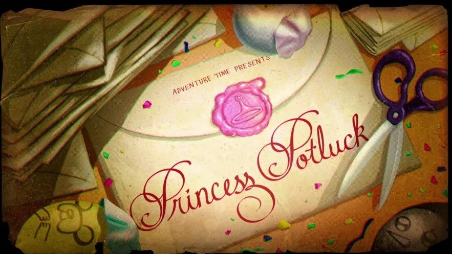 Время приключений — s05e18 — Princess Potluck
