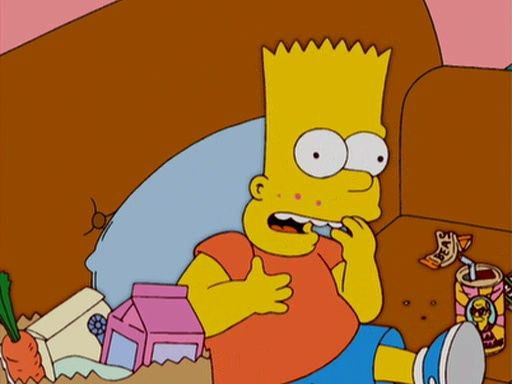 The Simpsons — s16e17 — The Heartbroke Kid