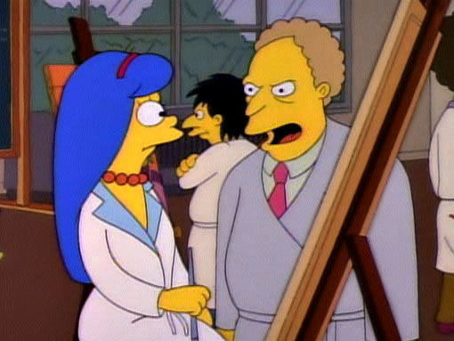 The Simpsons — s02e18 — Brush with Greatness