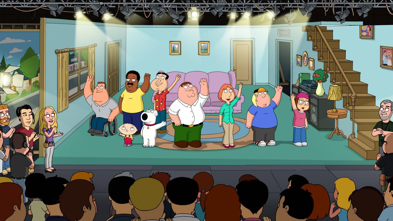 Гриффины — s15e04 — Inside Family Guy