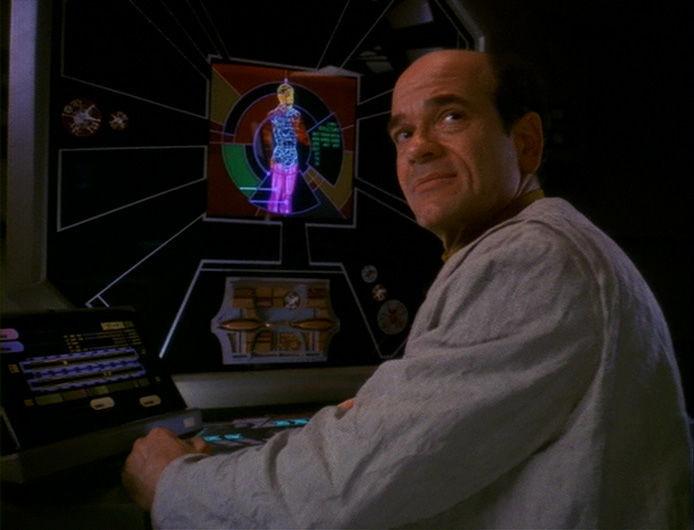 Звездный путь: Дальний Космос 9 — s05e16 — Doctor Bashir, I Presume