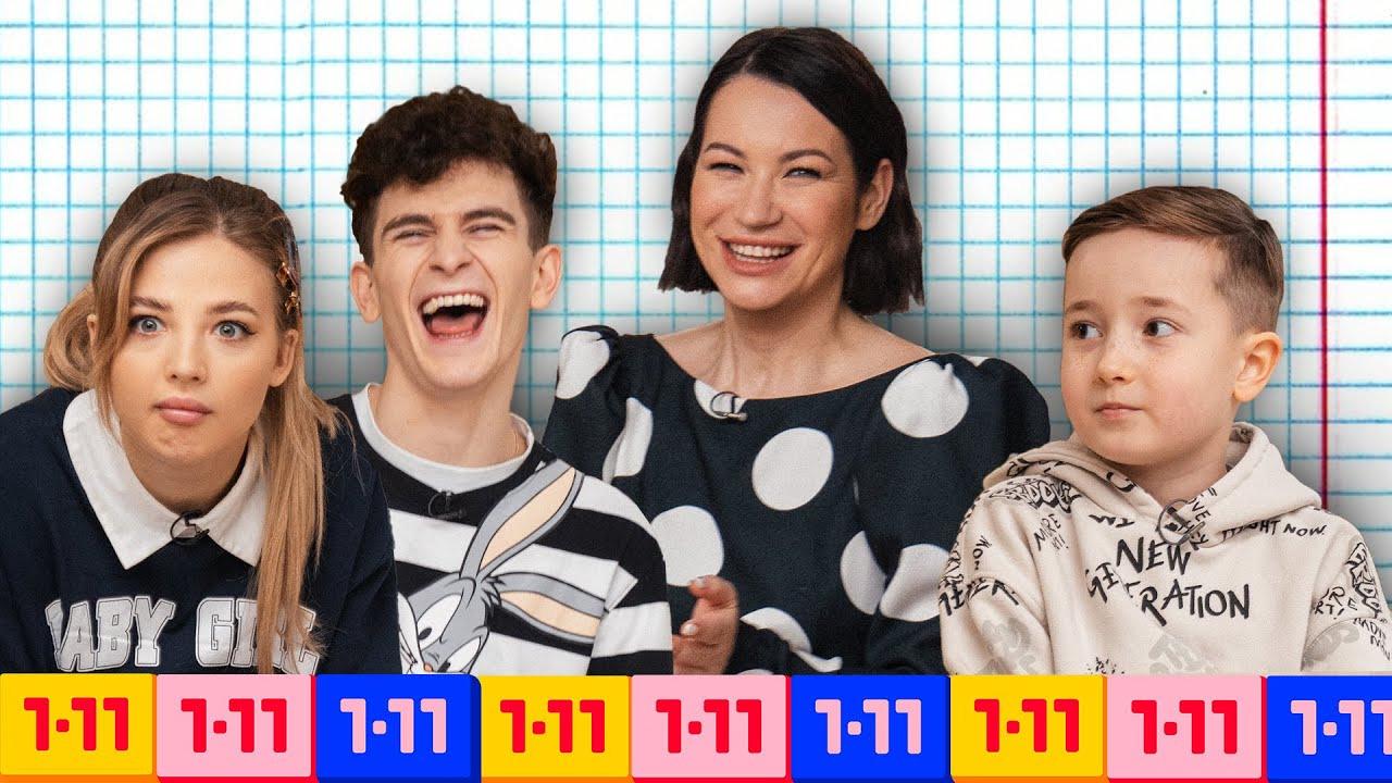 Шоу Иды Галич 1-11 — s03e04 — Кто умнее— Артур Бабич иАня Покров или школьники?