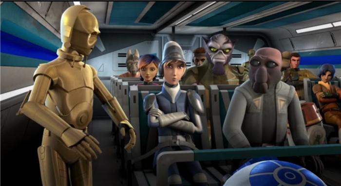 Star Wars Rebels — s01e03 — Droids in Distress