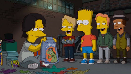The Simpsons — s24e07 — The Day the Earth Stood Cool